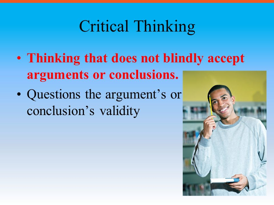 Start with Critical Thinking