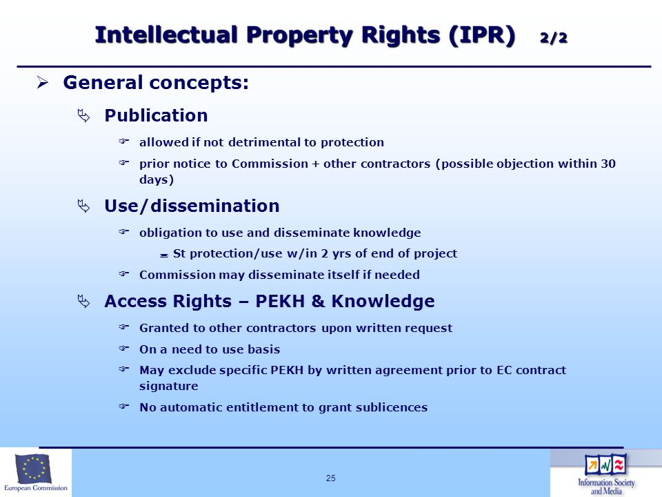 Intellectual Property Rights (IPR) 2/2
