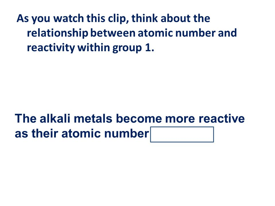 Periodic Table reactivity of atoms in the periodic table : The periodic table L.O.: Use the periodic table to find: the ...
