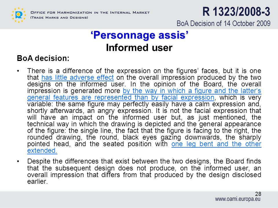 R 1323/2008-3 BoA Decision of 14 October 2009