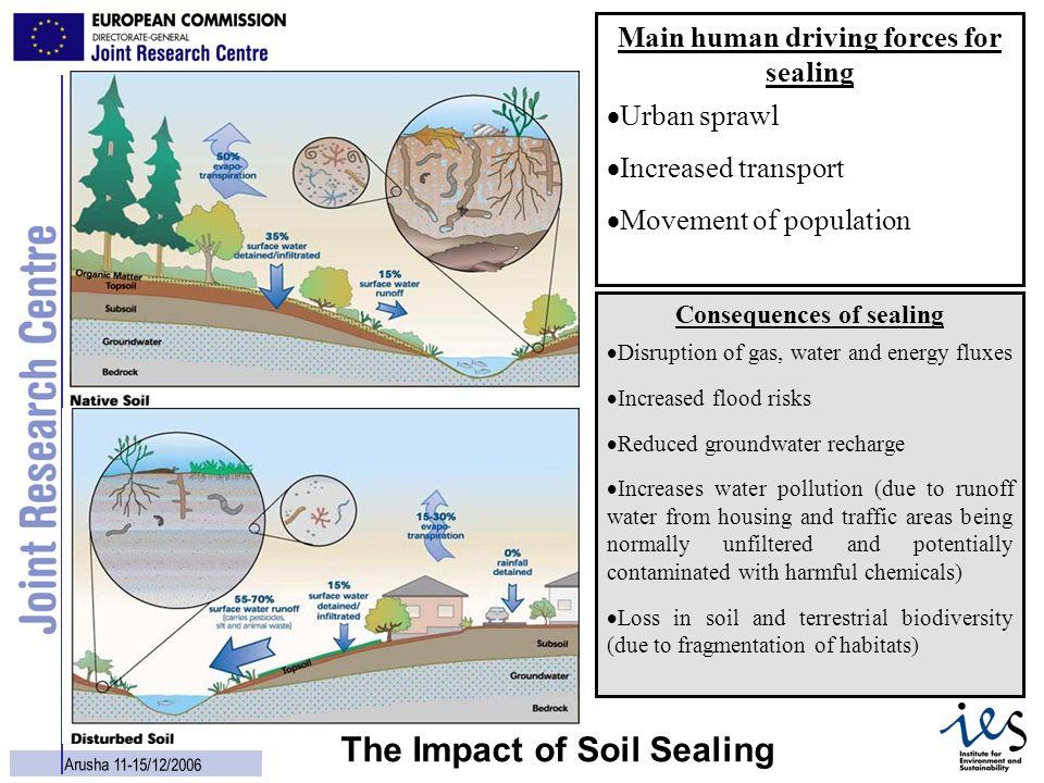 The Impact of Soil Sealing