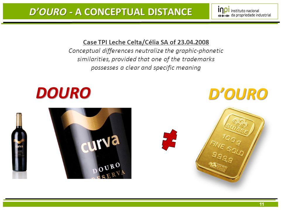 D'OURO - A CONCEPTUAL DISTANCE