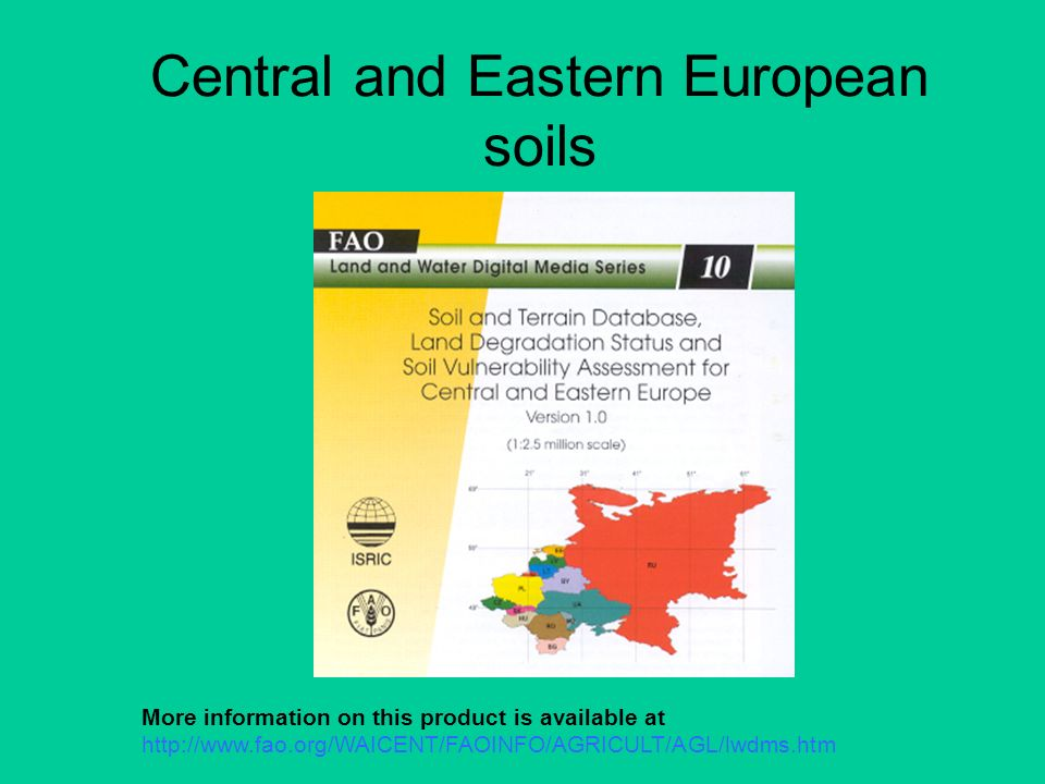 Central and Eastern European soils