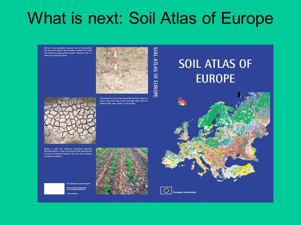 What is next: Soil Atlas of Europe