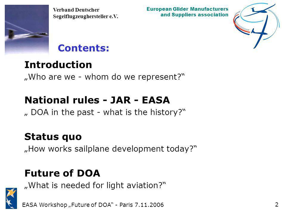 National rules - JAR - EASA