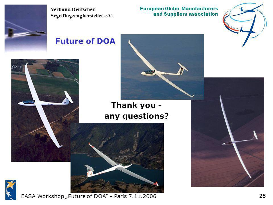 Future of DOA Thank you - any questions