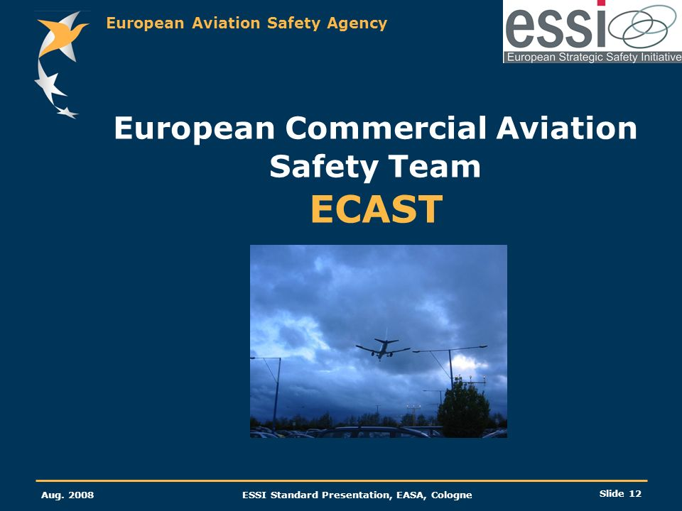 European Commercial Aviation Safety Team ECAST