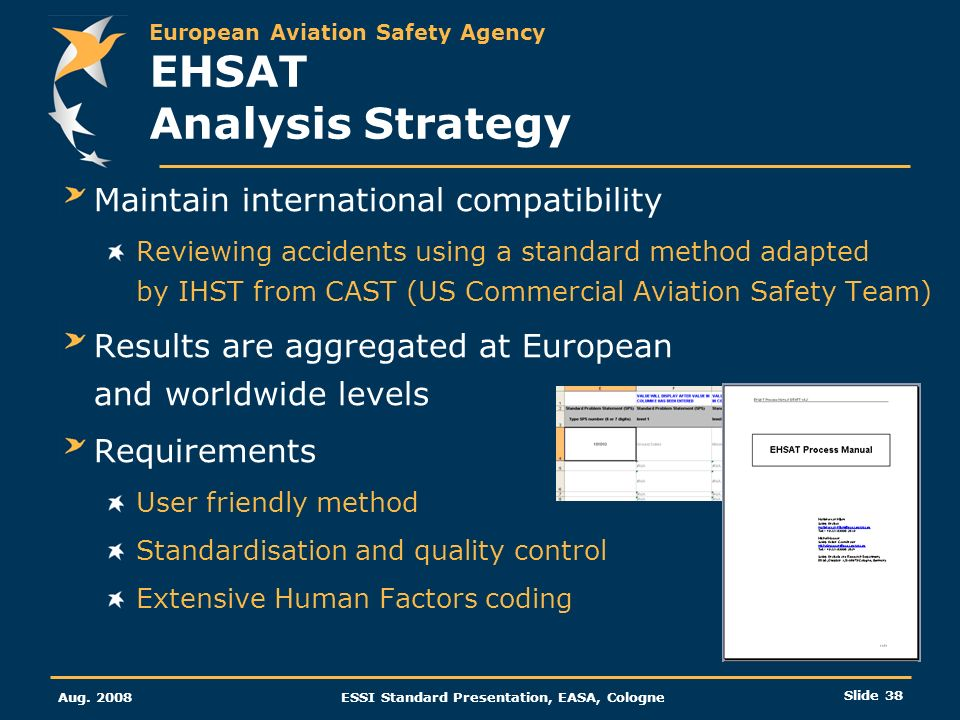 EHSAT Analysis Strategy