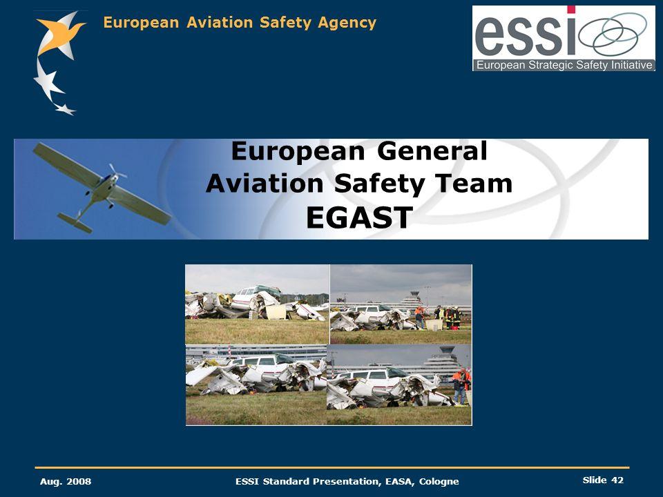 European General Aviation Safety Team EGAST