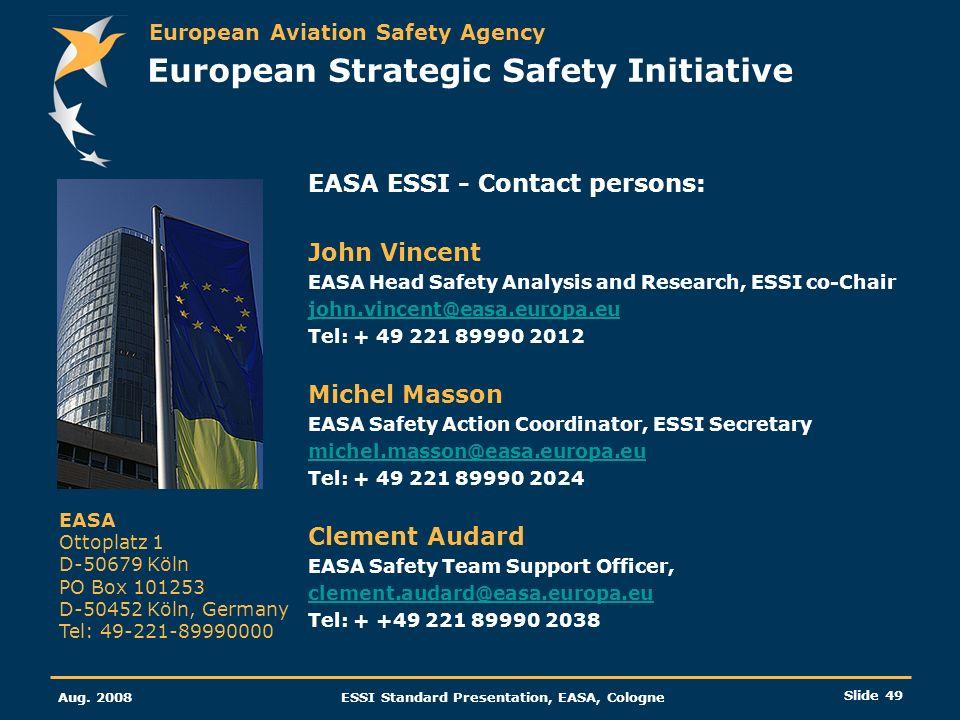 European Strategic Safety Initiative