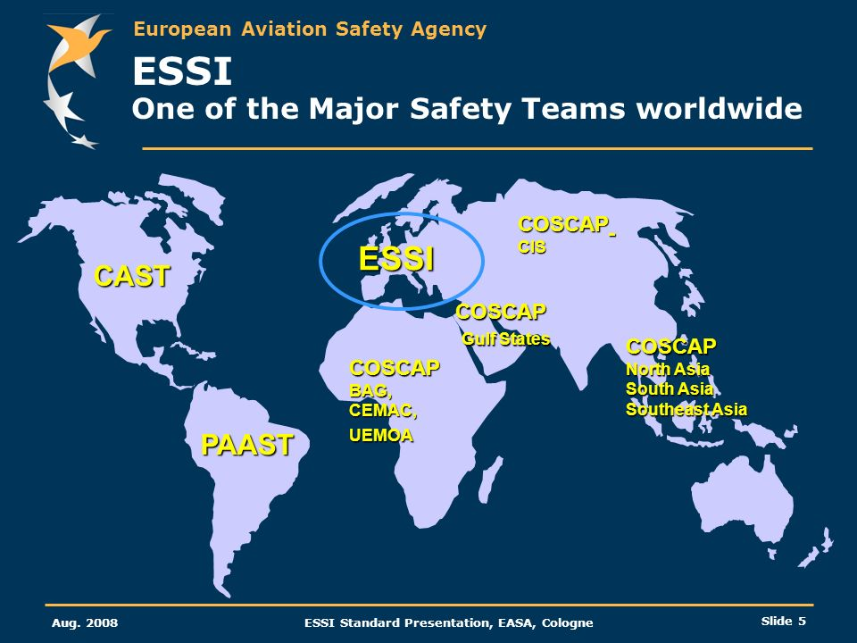 ESSI One of the Major Safety Teams worldwide