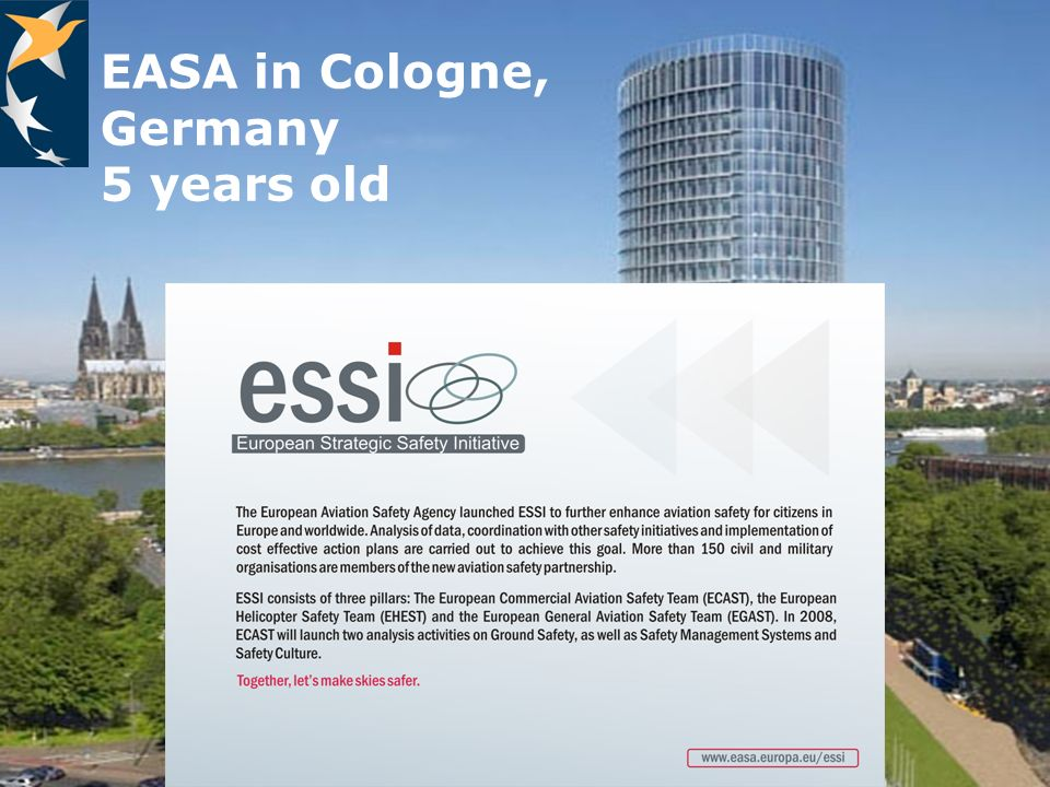 EASA in Cologne, Germany 5 years old