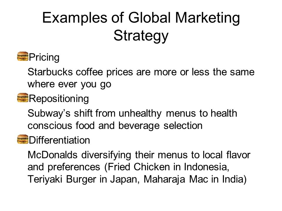 Pricing strategy of mcdonald s singapore