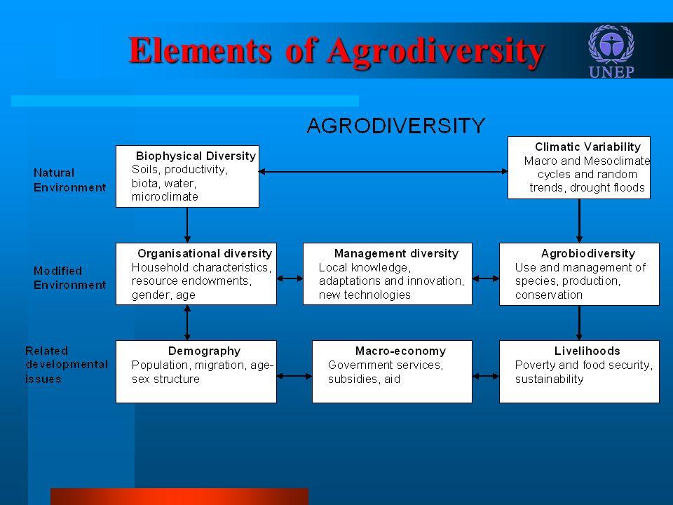 Elements of Agrodiversity