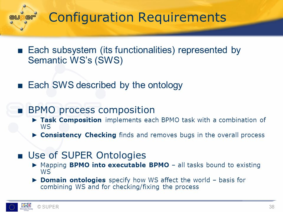 Configuration Requirements