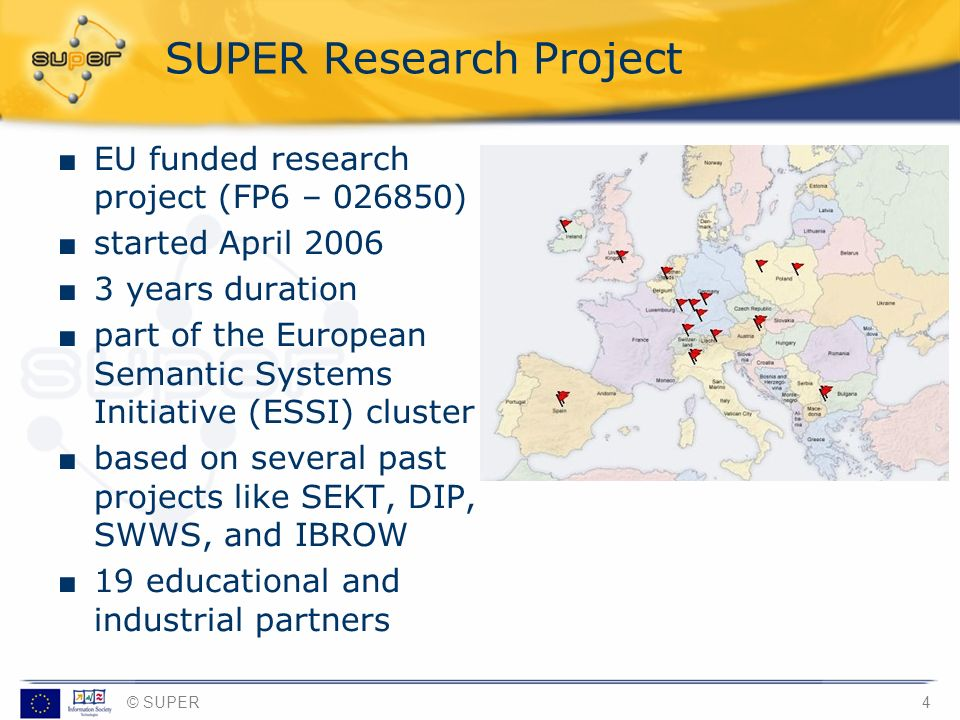 SUPER Research Project