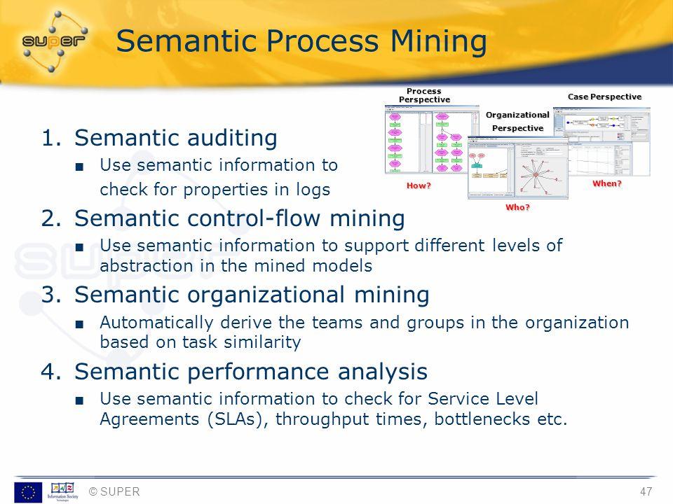 Semantic Process Mining