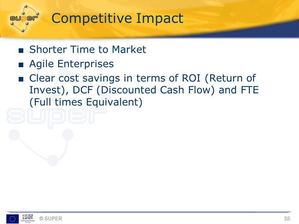Competitive Impact Shorter Time to Market Agile Enterprises