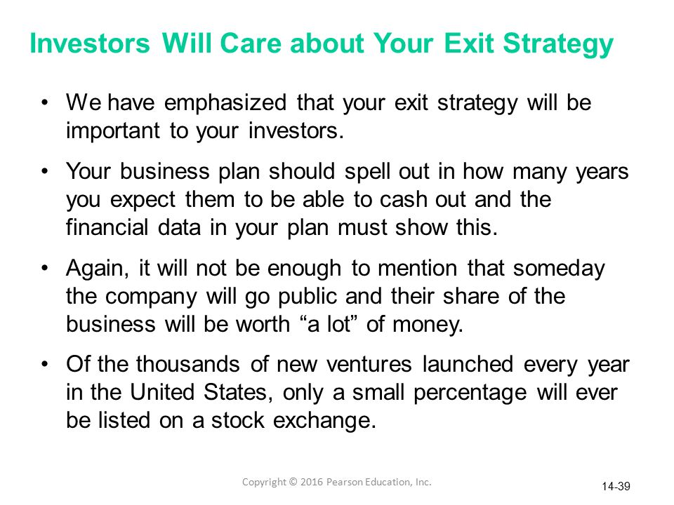 The sociopath exit strategy