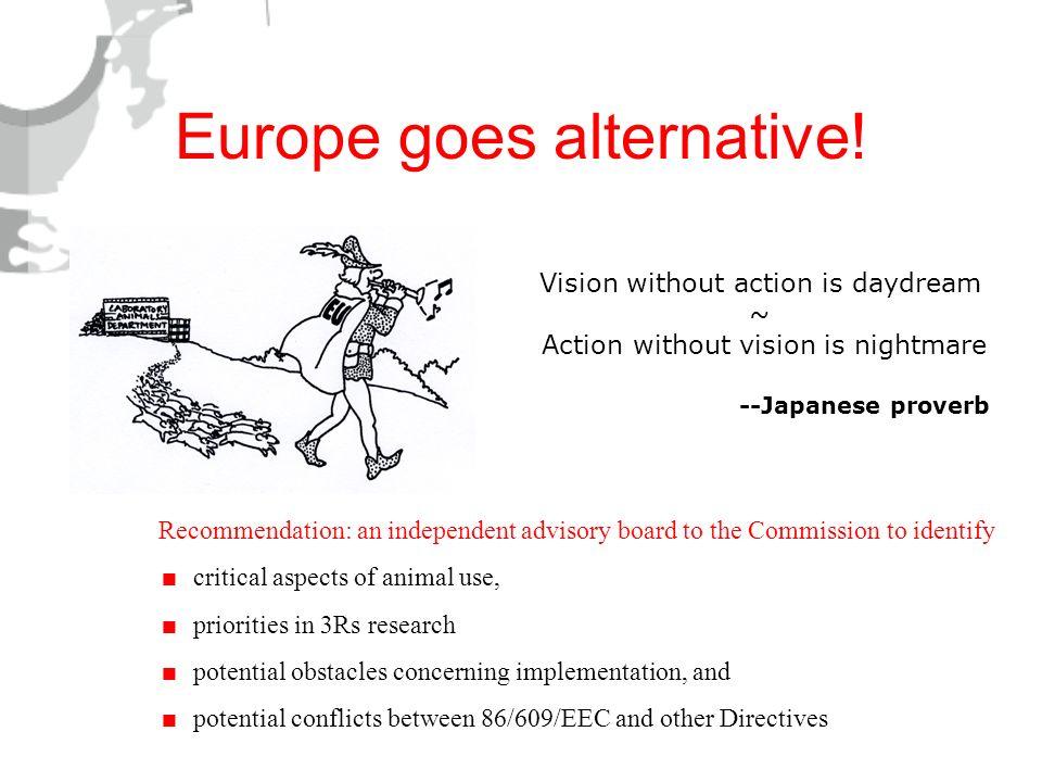 Europe goes alternative!