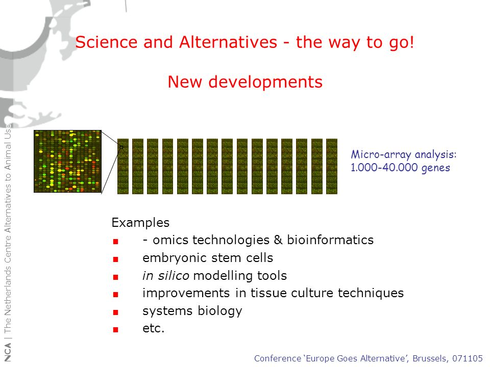 Science and Alternatives - the way to go!