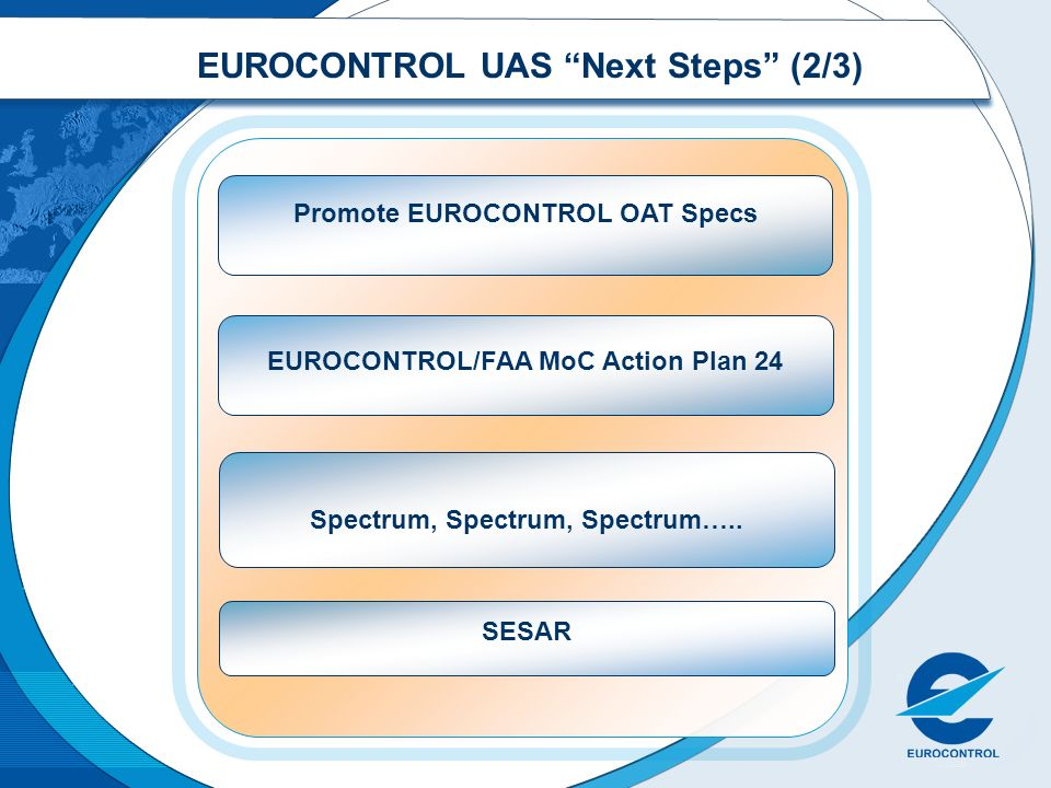 EUROCONTROL UAS Next Steps (2/3)