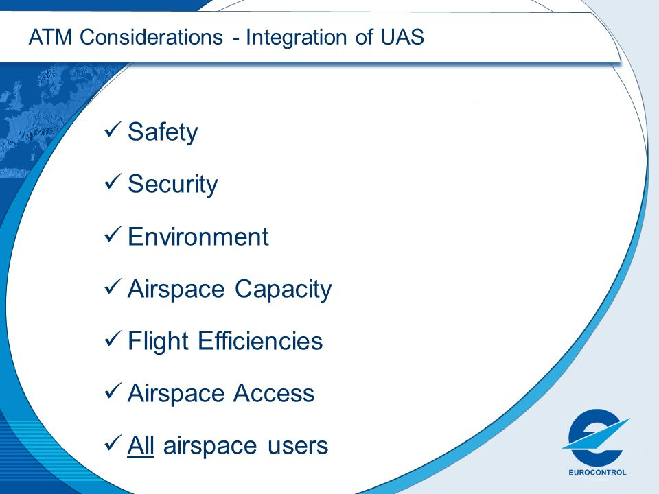 Safety Security Environment Airspace Capacity Flight Efficiencies