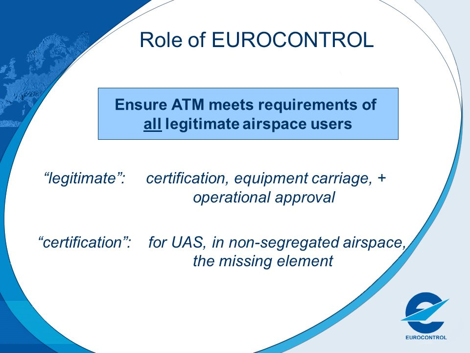 Ensure ATM meets requirements of all legitimate airspace users