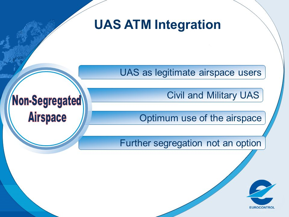 UAS ATM Integration UAS as legitimate airspace users