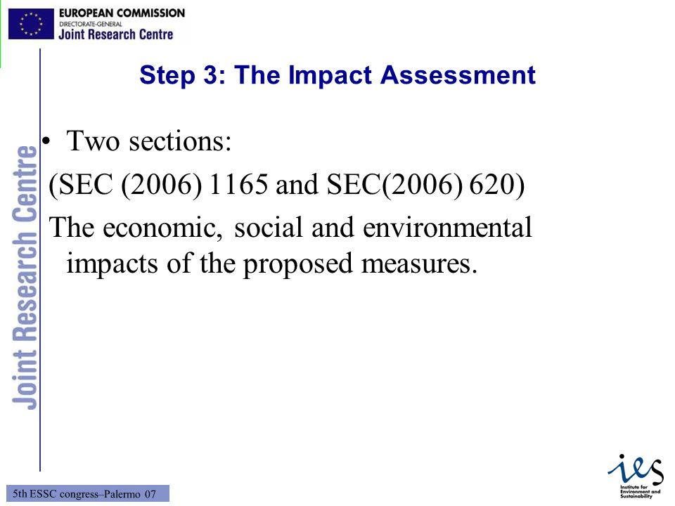 Step 3: The Impact Assessment