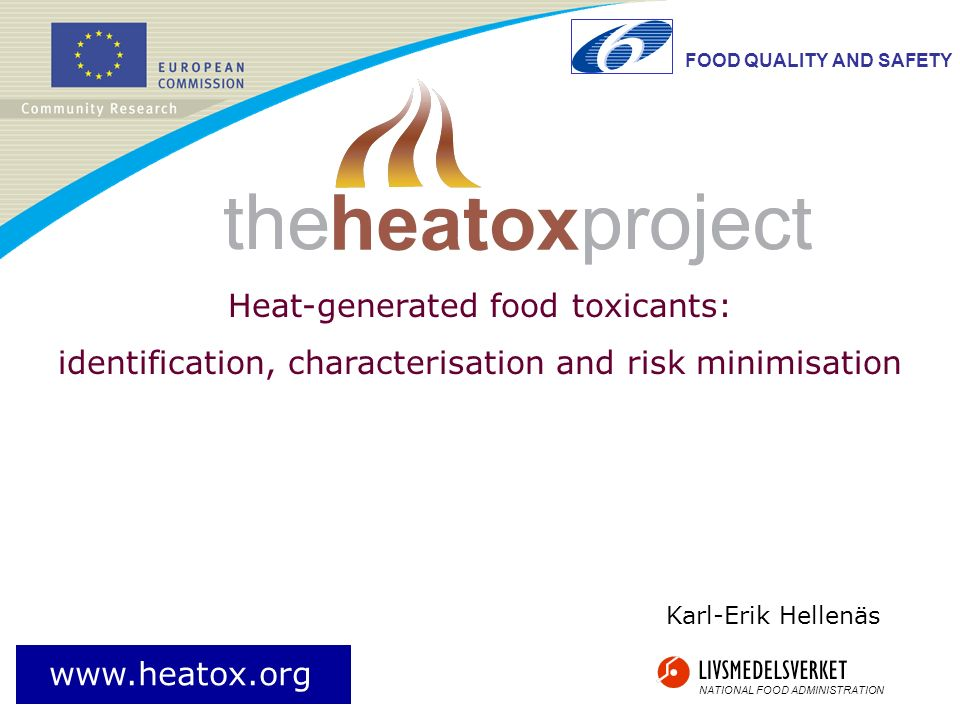 Heat-generated food toxicants: