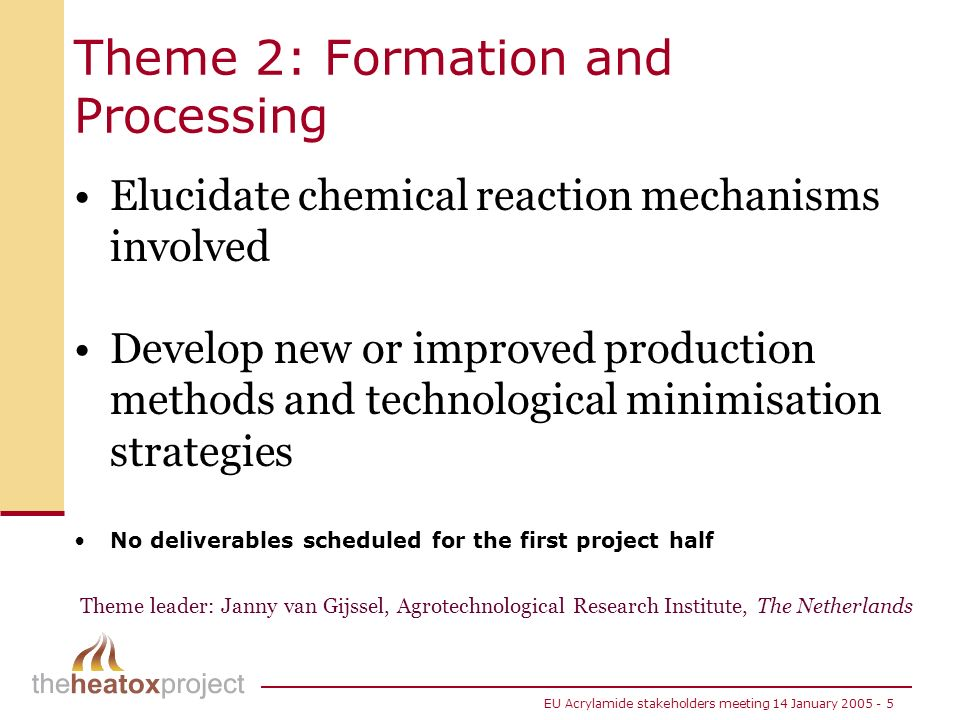 Theme 2: Formation and Processing