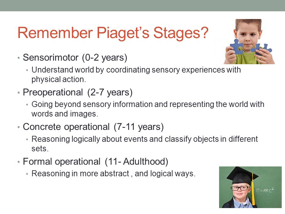 piaget s conservation tasks A typical 45-year-old on piagetian conservation tasks: number, length, liquid, mass, and area (captioning provided by the it department at inver hills comm.