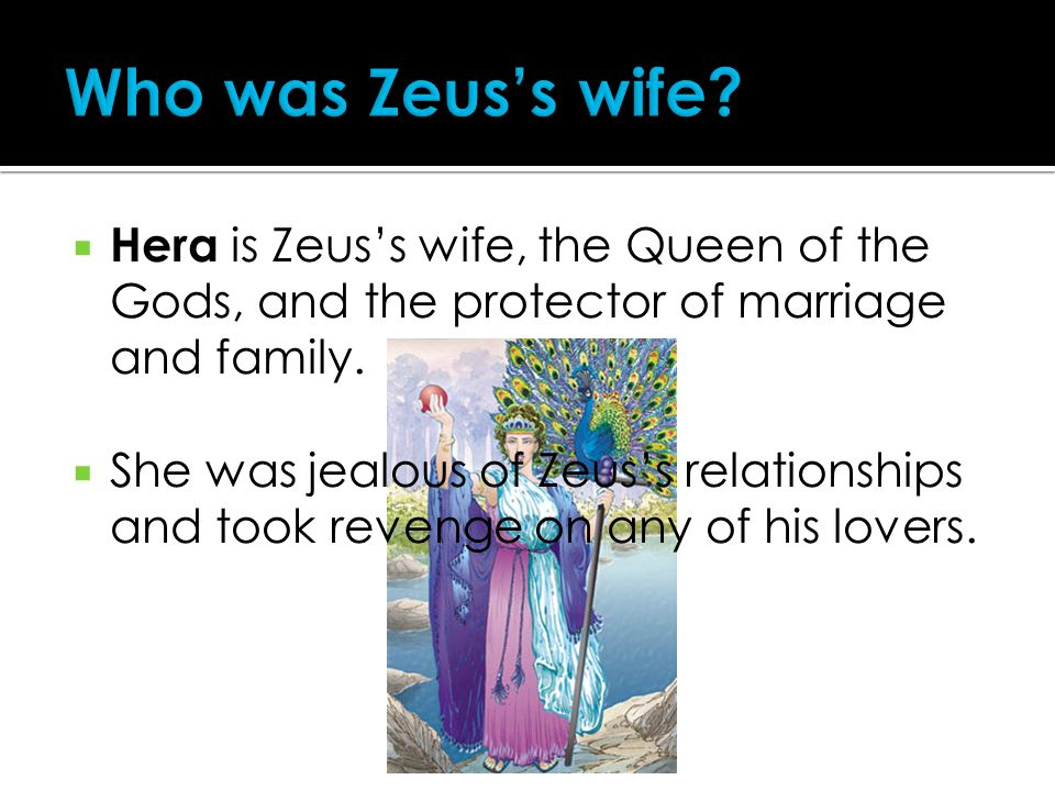 hera and zeus relationship to other gods