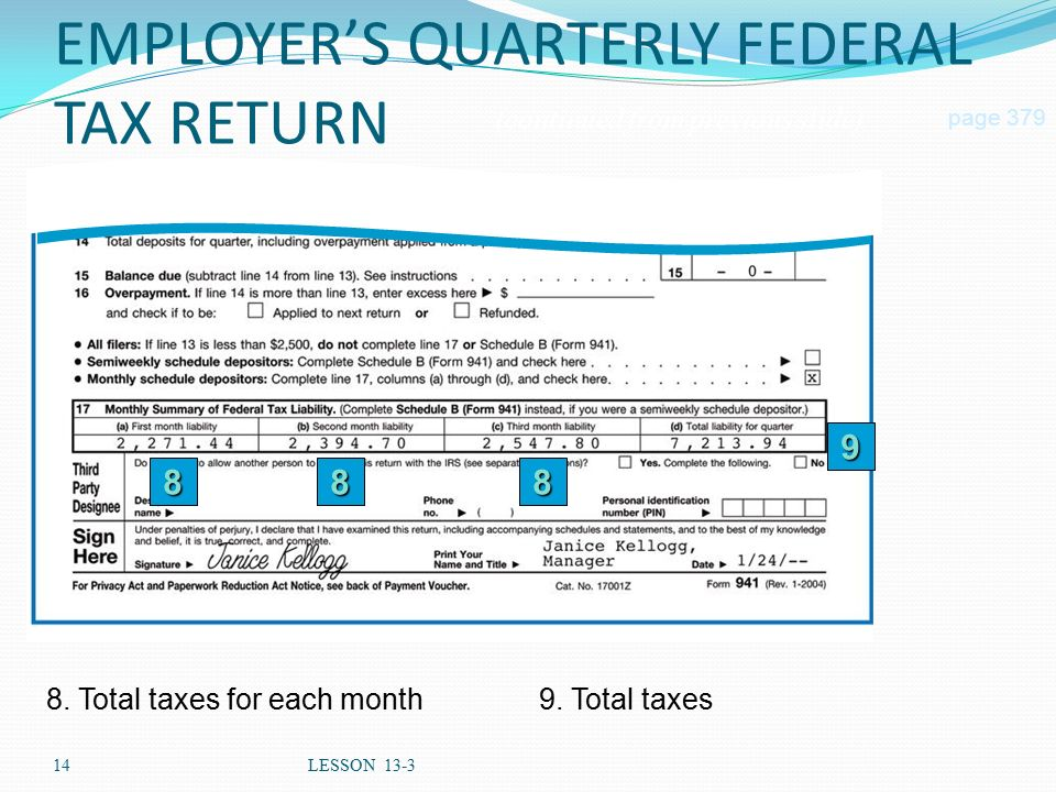 how to pay federal taxes quarterly
