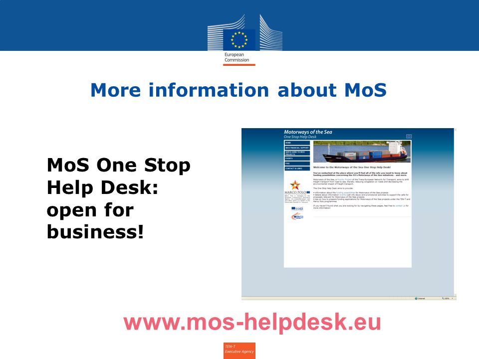 More information about MoS