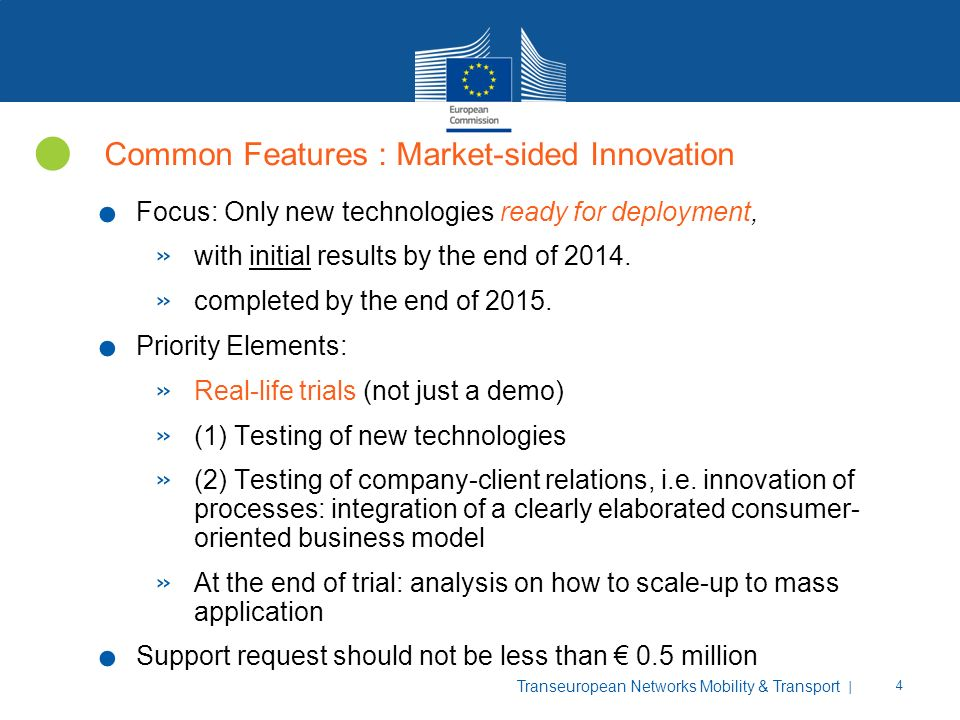 Common Features : Market-sided Innovation