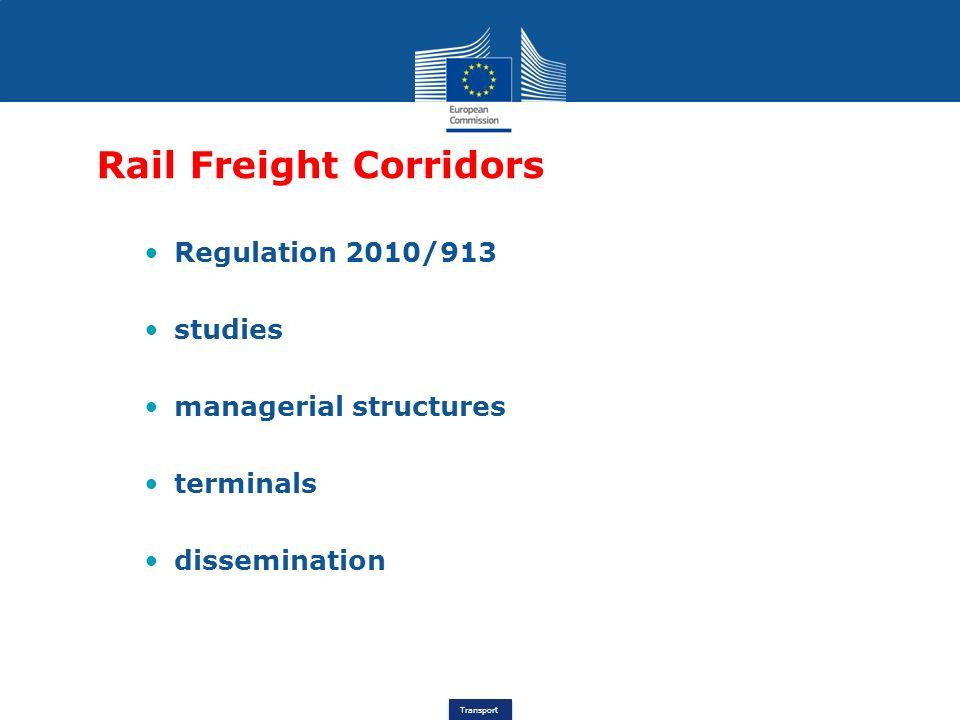 Rail Freight Corridors