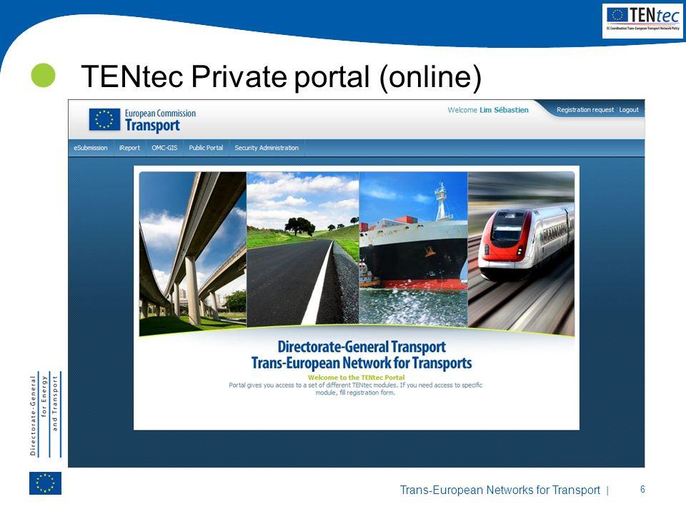 TENtec Private portal (online)