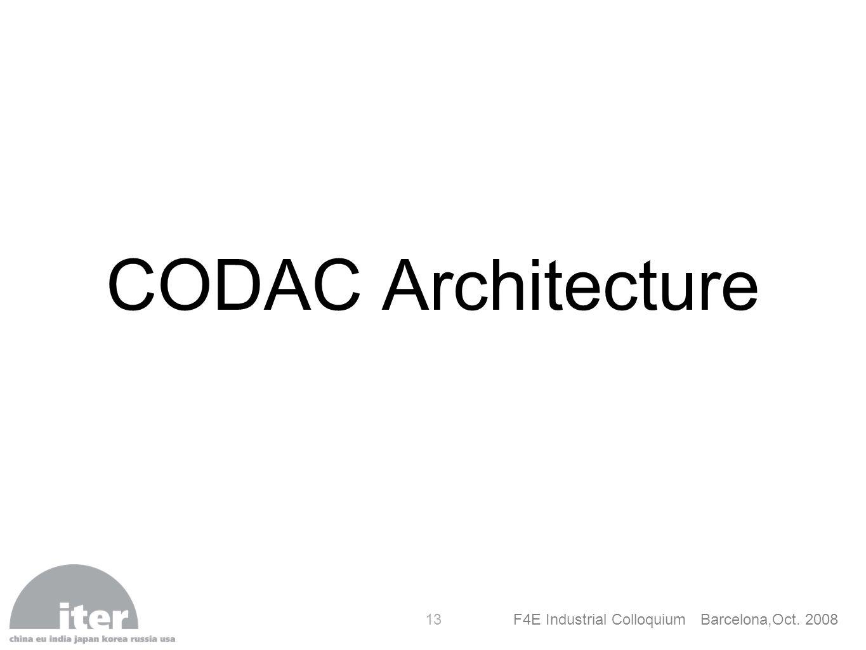 CODAC Architecture