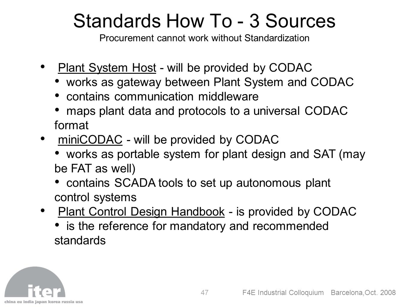 Standards How To - 3 Sources