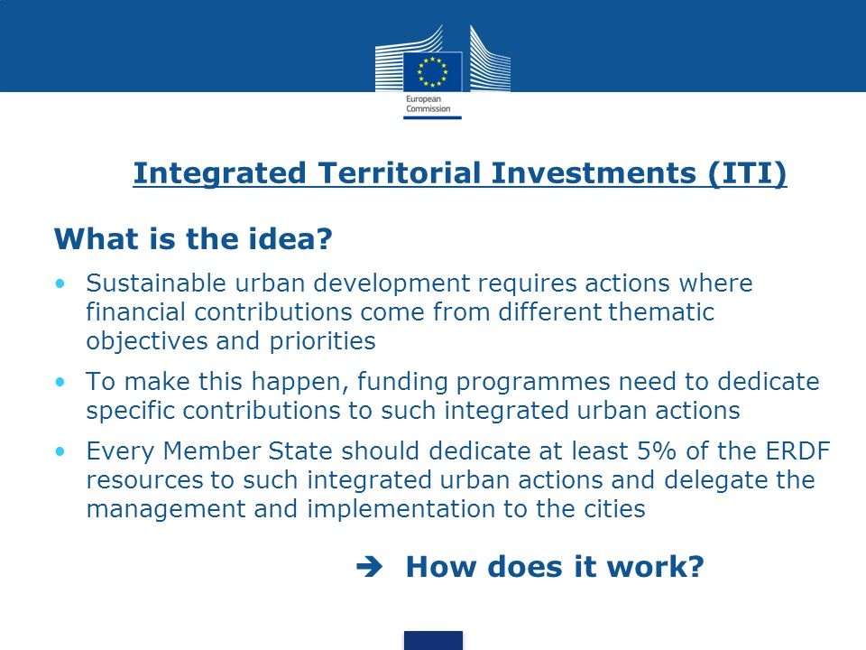 Integrated Territorial Investments (ITI)