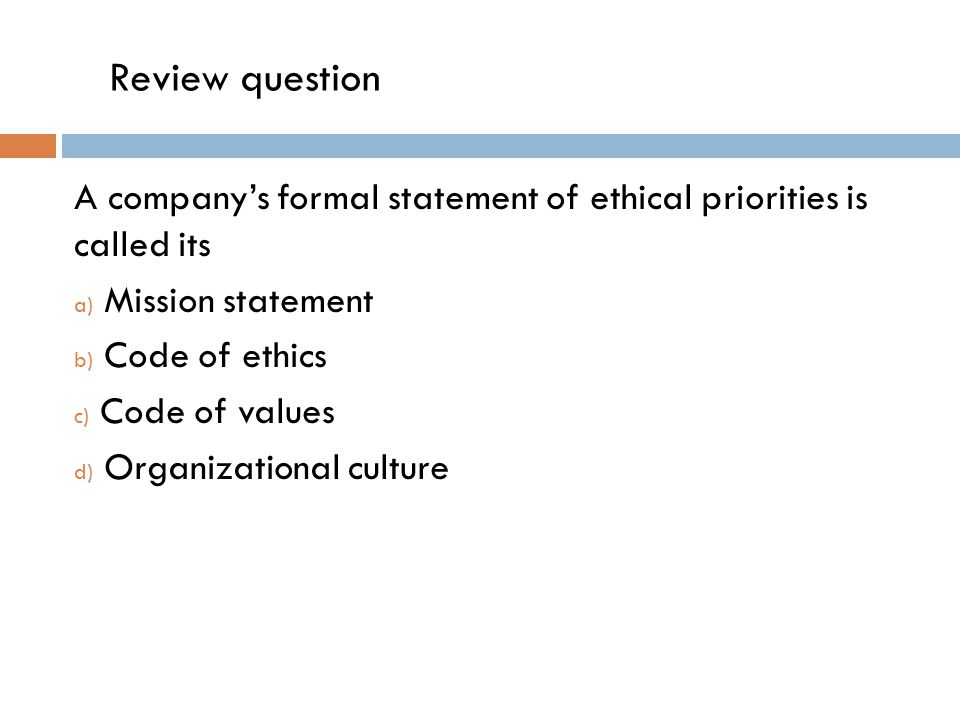 a question of ethics A question of ethics the new financial reporting council ethical standard may raise more questions than it answers lesley meall investigates.