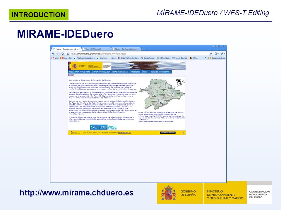 MIRAME-IDEDuero   INTRODUCTION