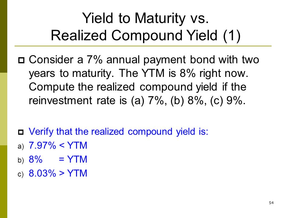 bond coupon vs yield
