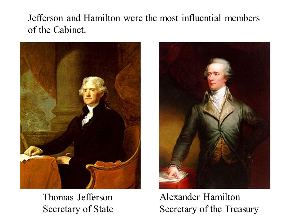 """an introduction and a comparison of the secretary of state thomas jefferson and the secretary of tre The """"dualities"""" of thomas jefferson diplomat, secretary of state jefferson wrote in his notes on the state of virginia that histories."""