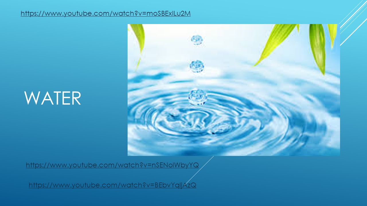 Water ppt for Youtube h2o