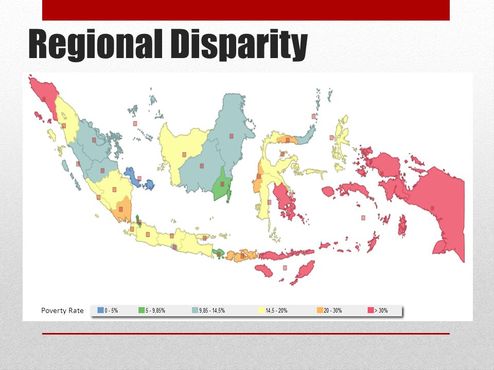 Regional Disparity Poverty Rate