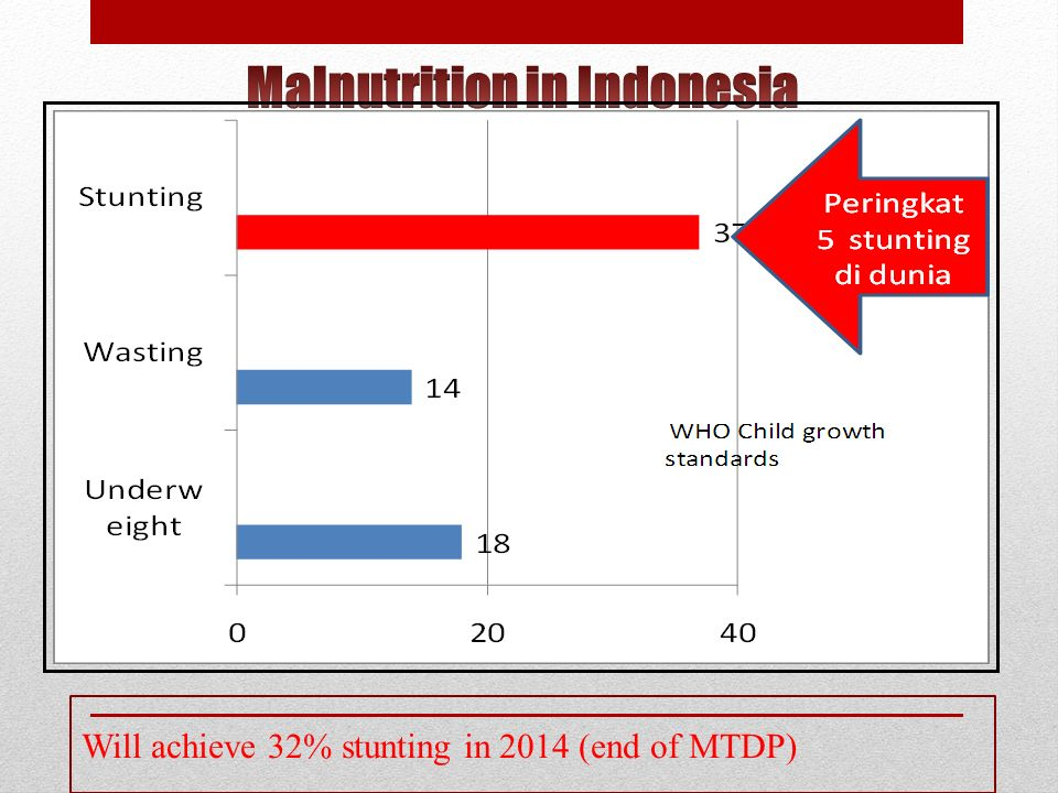Malnutrition in Indonesia