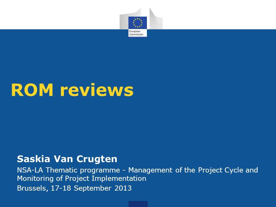 ROM reviews Saskia Van Crugten